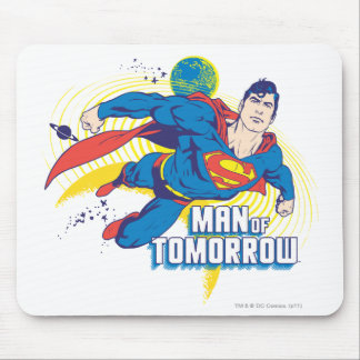 Man of Tomorrow Mouse Pads