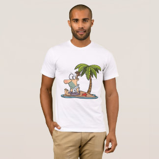 Man On A Deserted Island Mens T-Shirt