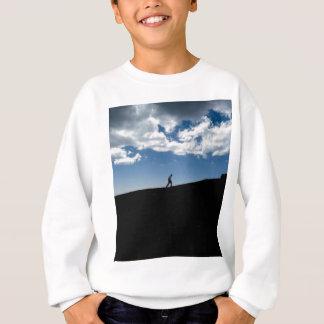 Man on Mountain Silhouette Sweatshirt
