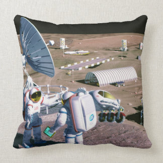 Man on the Moon Pillow
