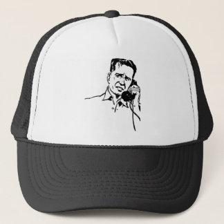 Man on the Phone Trucker Hat