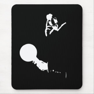 Man Out of Time Mousepad