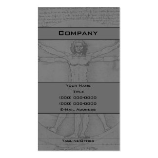 Man Pack Of Standard Business Cards