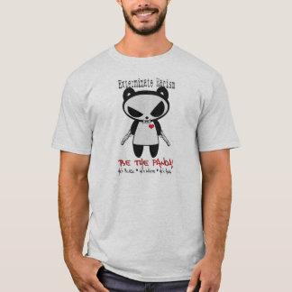 Man Panda Exterminate Racism T-Shirt