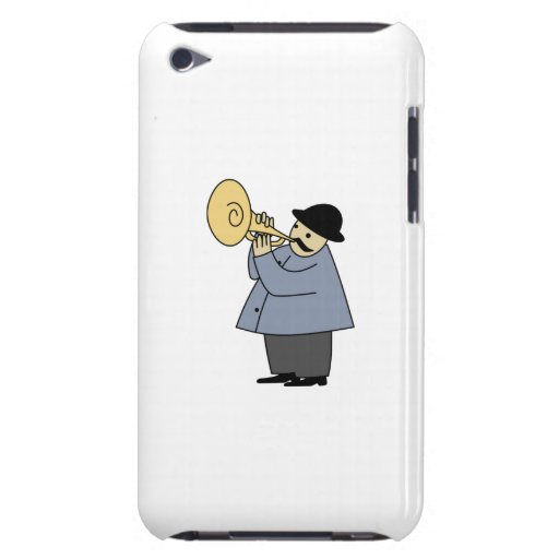 Man Playing a Musical Instrument iPod Case-Mate Case
