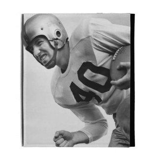 Man Playing Football 3 iPad Folio Covers