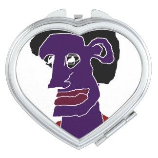 Man Portrait Caricature Vanity Mirrors