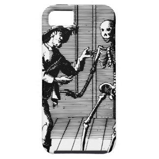 Man Proposing to a Skeleton Case For The iPhone 5
