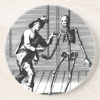 Man Proposing to a Skeleton Coaster
