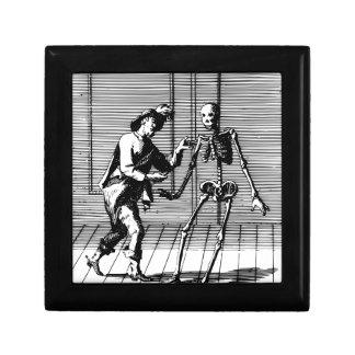 Man Proposing to a Skeleton Gift Box
