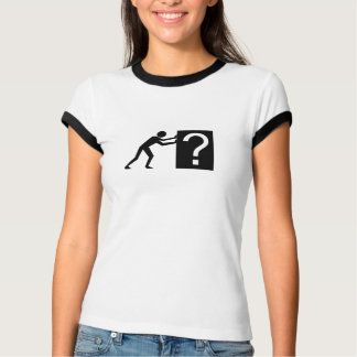Man Pushing an Object T-Shirt
