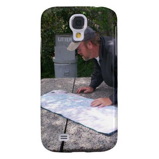 Man Reads Map Iphone 3g 3gs Speck Cas Galaxy S4 Cover