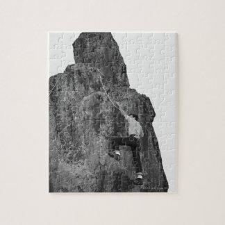 Man Rock Climbing Jigsaw Puzzle