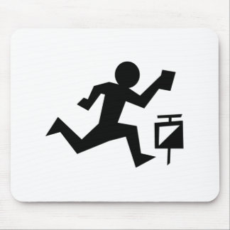 Man Running Mouse Pad
