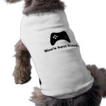 Man's Best Friend Funny Gamer Pet Clothing