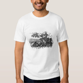 Man Seated by a Stunted Tree T-shirts