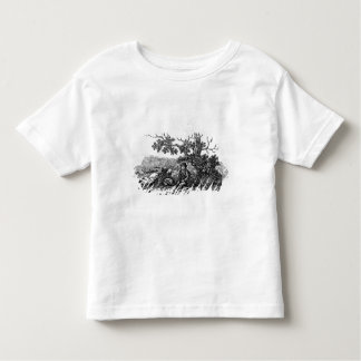 Man Seated by a Stunted Tree Toddler T-Shirt