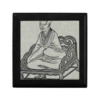 Man sitting in Meditation Pose Gift Box