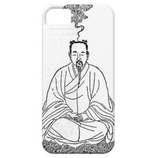 Man Sitting in Meditation Pose iPhone 5 Cover