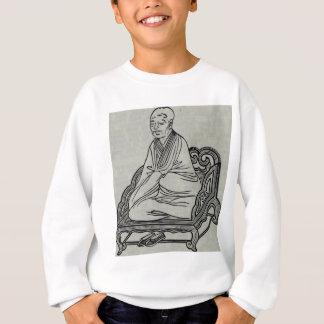 Man sitting in Meditation Pose Sweatshirt