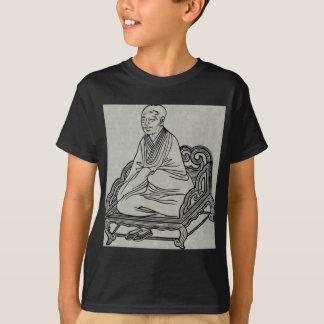 Man sitting in Meditation Pose T-Shirt