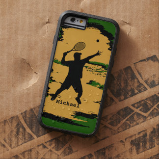 Man Tennis Player Tough Xtreme iPhone 6 Case