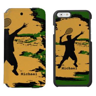 Man Tennis Player Incipio Watson™ iPhone 6 Wallet Case