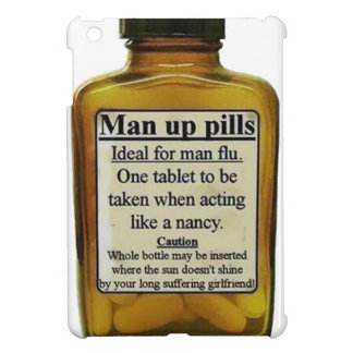 Man Up Pills Case For The iPad Mini