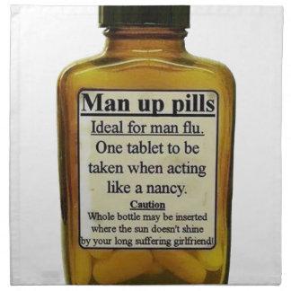 Man Up Pills Napkin
