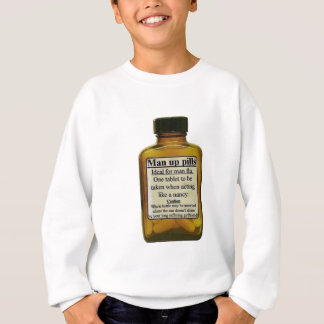 Man Up Pills Sweatshirt