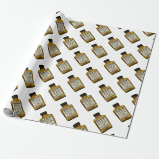 Man Up Pills Wrapping Paper