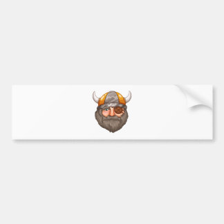 Man Viking Bumper Sticker