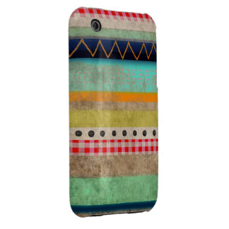 Man Vintage Striped Chevron iPhone 3 3GS Case iPhone 3 Covers