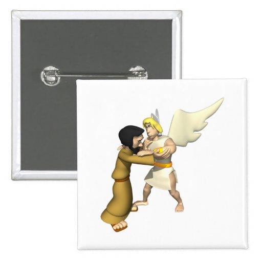 Man vs Angel Pin