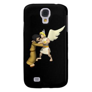 Man vs Angel Galaxy S4 Cases