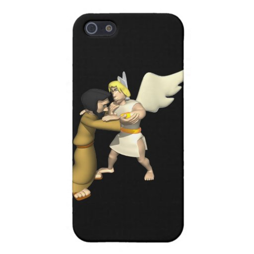 Man vs Angel iPhone 5 Cases