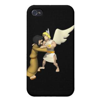 Man vs Angel iPhone 4 Covers