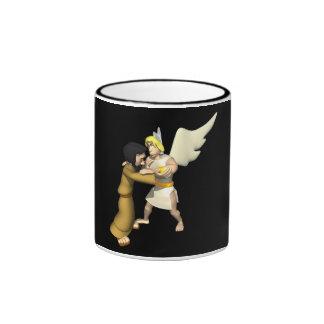 Man vs Angel Mugs