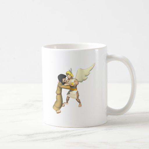 Man vs Angel Mug