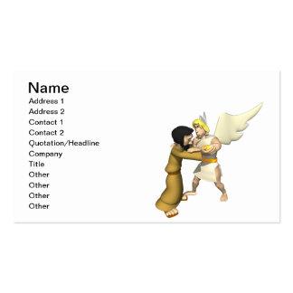 Man vs Angel Pack Of Standard Business Cards