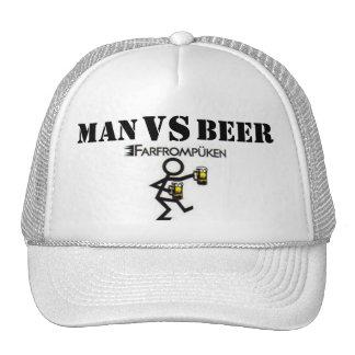 MAN VS BEER CAP