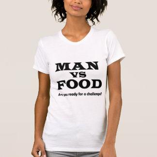 man vs food shirts