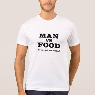 man vs food tshirts
