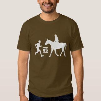 Man vs Horse Marathon Dark Shirts