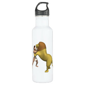 Man Vs Lion 710 Ml Water Bottle