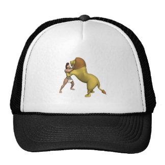 Man Vs Lion Hat