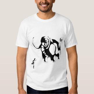 Man vs Mammoth T-shirt