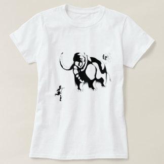 Man vs Mammoth, Woman's Shirt