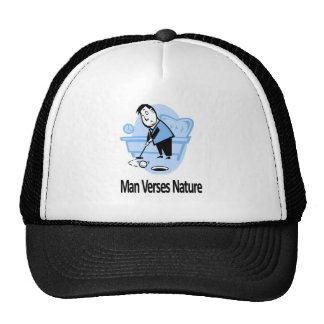 Man vs Nature Collection Mesh Hats