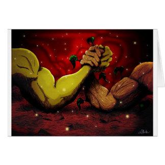 Man vs Nature.jpg Greeting Card